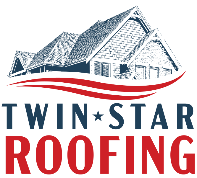 Twin Star Roofing Logo